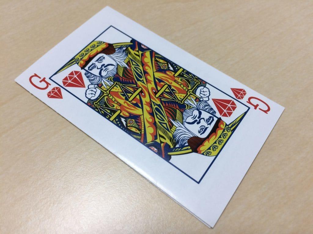 法律事務所カードデザイン制作