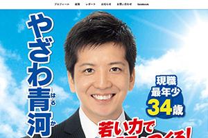 戸田市議会議員やざわ青河 ホームページ